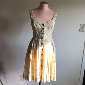 Anthropologie sweetheart dress 💛☀️